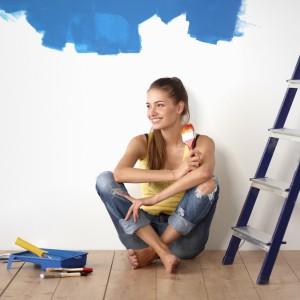 Girl Interior Painting